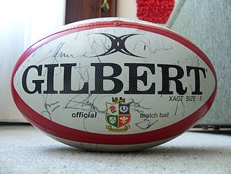 Autograph - A rugby ball signed by all of the All Blacks 2006 Tri Nations Series squad