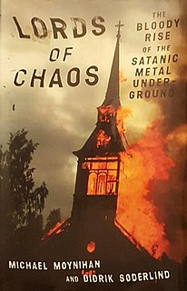 <i>Lords of Chaos</i> (book) 1998 music history book