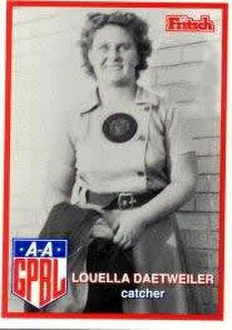 Louella Daetweiler - Image: Louella Daetweiler