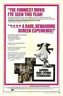 <i>Lovers and Other Strangers</i> 1970 film by Cy Howard