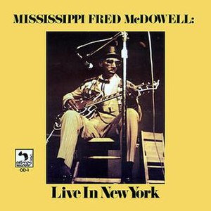 Live in New York (Fred McDowell album) - Image: MF Mc Dowell New York