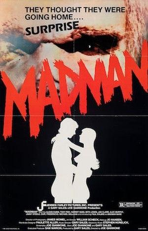 Madman (1982 film) - Film poster