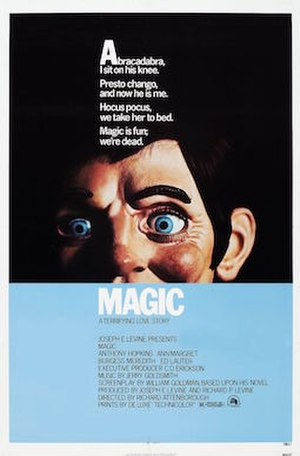 Magic (1978 film) - Theatrical release poster