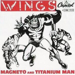 Magneto and Titanium Man - Image: Magneto and Titanium Man cover