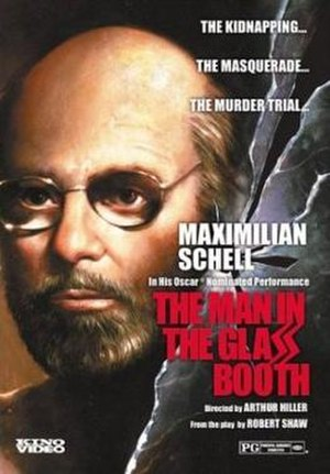 The Man in the Glass Booth - DVD cover
