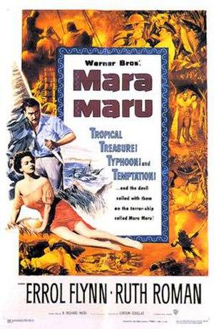 Mara Maru - 1952 Theatrical Poster