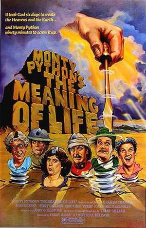 Monty Python's The Meaning of Life - Theatrical release poster