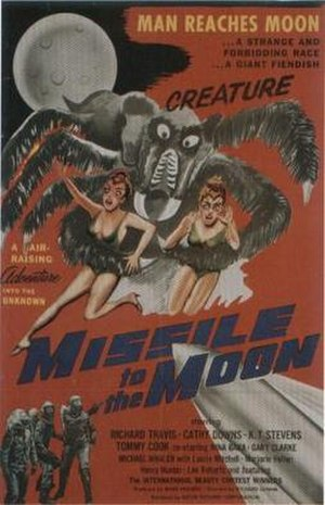 Missile to the Moon - Theatrical release poster