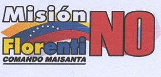 Mission Florentino - Logo of the Mission Florentino/Comando Maisanta