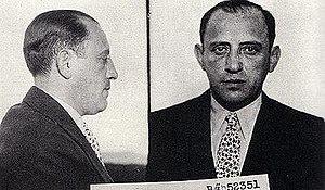 Moe Sedway - NYPD mugshot of  Moe Sedway