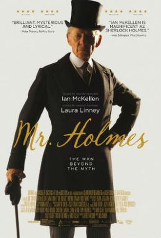 Mr. Holmes - Theatrical release poster