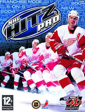 NHL Hitz Pro - PAL region cover art
