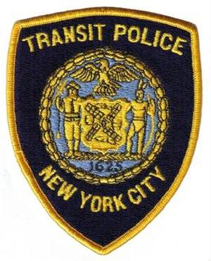 New York City Transit Police - Image: NYC Transit Police Patch Pre 1995