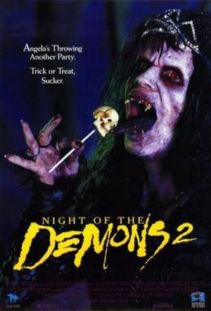 Night of the Demons 2 - Theatrical release poster