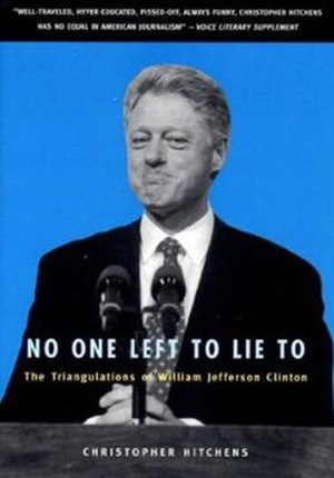 No One Left to Lie To - First edition cover (1999)