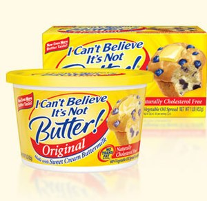 I Can't Believe It's Not Butter! - Image: Not Butter