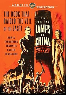 <i>Oil for the Lamps of China</i> (film) 1935 film by Mervyn LeRoy