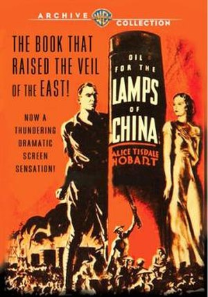 Oil for the Lamps of China (film) - Image: Oil for the Lamps of China Film Poster