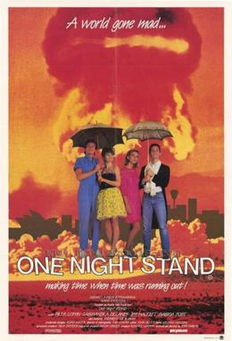 One Night Stand (1984 film) - Poster