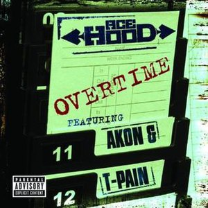 Overtime (Ace Hood song) - Image: Overtimecover