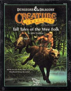 <i>Tall Tales of the Wee Folk</i> Tabletop role-playing game supplement for Dungeons & Dragons