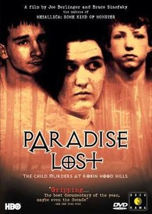 Paradise Lost: The Child Murders at Robin Hood Hills - DVD cover