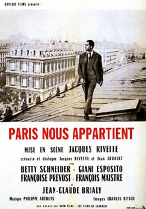 Paris Belongs to Us - Film poster
