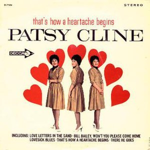 That's How a Heartache Begins - Image: Patsy Cline That's How a Heartache Begins