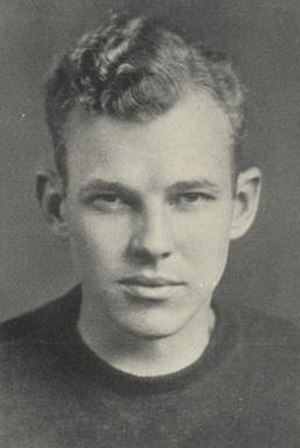 Paul B. Parker - Parker pictured in Orient 1928, Ball State yearbook