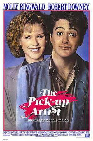 The Pick-up Artist (film) - Theatrical release poster