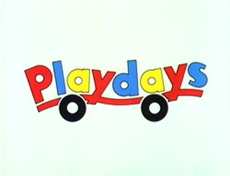 Playdays - Image: Playdays Logo