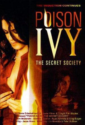 Poison Ivy: The Secret Society - DVD cover