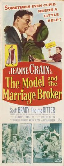 Poster of the movie The Model and the Marriage Broker.jpg