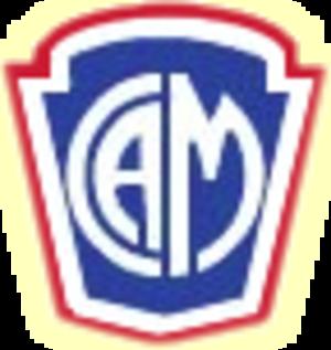 Carlos A. Mannucci - Image: Primer escudo Mannucci