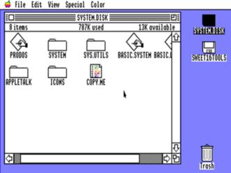Apple ProDOS - Image: Pro DOS16