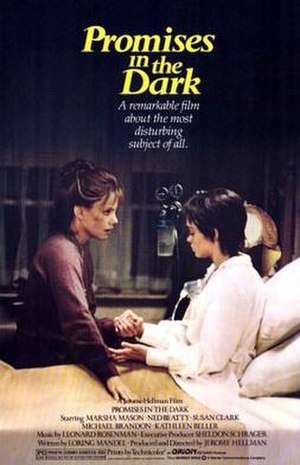 Promises in the Dark (film) - Theatrical release poster