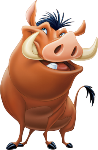 Timon and Pumbaa - Image: Pumbaa