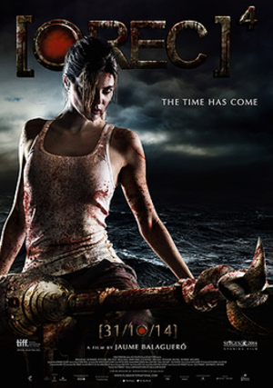 REC 4: Apocalypse - Theatrical release poster