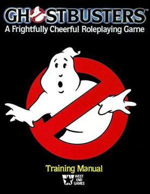 Ghostbusters (role-playing game) - Image: RPG Ghostbusters cover