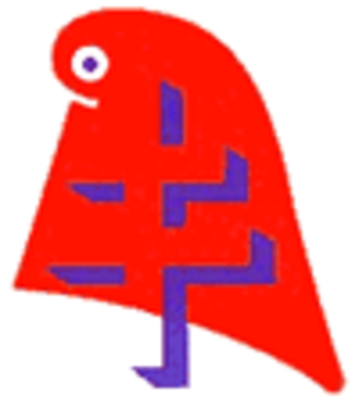 Rally for the Republic - The first logo of the RPR recalls the Gaullist inheritance with the Cross of Lorraine, symbol of the Free French, drawn on top of the phrygian cap (normally worn by Marianne).
