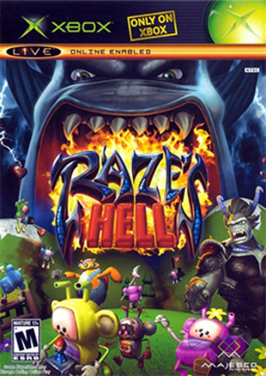 Raze's Hell - Image: Raze's Hell Coverart