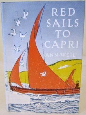 Red Sails to Capri - First edition (publ. Viking Juvenile)