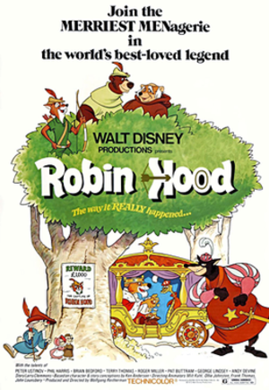Robin Hood (1973 film) - Theatrical release poster