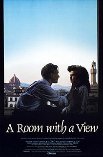 <i>A Room with a View</i> (1985 film) 1985 British romance drama film by James Ivory, based on the novel