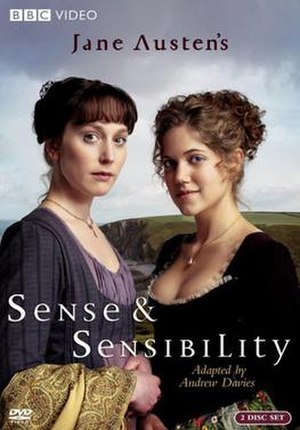 Sense and Sensibility (2008 miniseries) - DVD cover