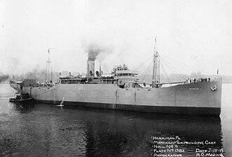 Merchant Shipbuilding Corporation - Image: SS Winyah