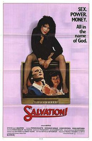 Salvation! (1987 film) - Theatrical release poster