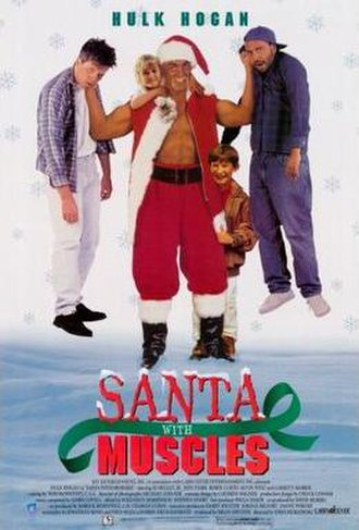 Santa with Muscles - VHS cover