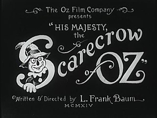 <i>His Majesty, the Scarecrow of Oz</i> 1914 American film directed by J. Farrell MacDonald