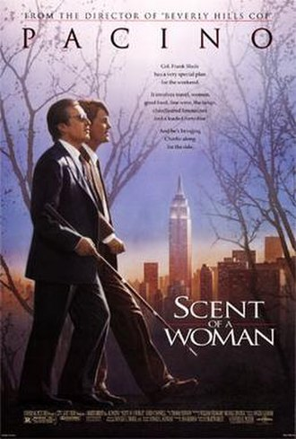 Scent of a Woman (1992 film) - Theatrical release poster